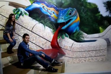 Экскурсия для детей в Музей Оптических Иллюзий